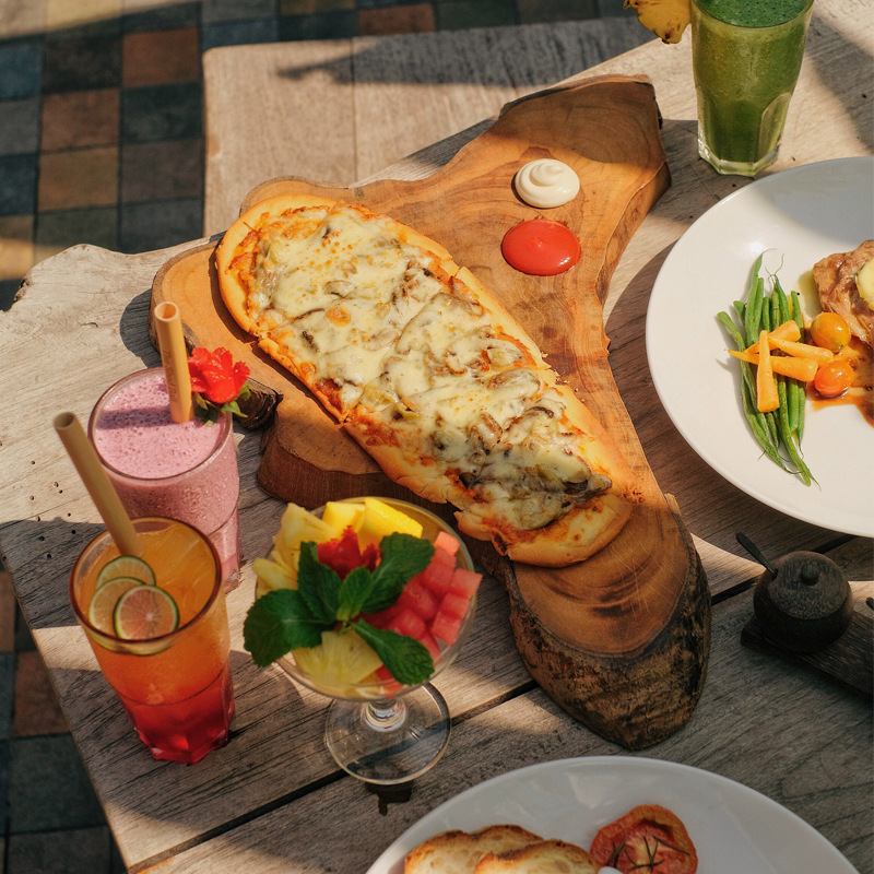 Breakfast at The Shed Bali - Ubud